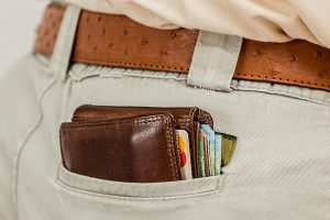 Wallets make excellent Christmas gifts for men